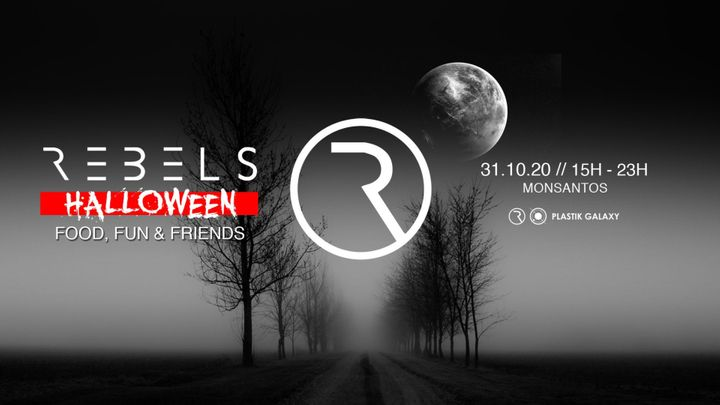 Cover for event: REBELS Halloween