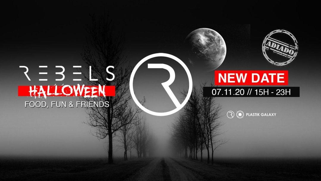 REBELS Halloween event cover