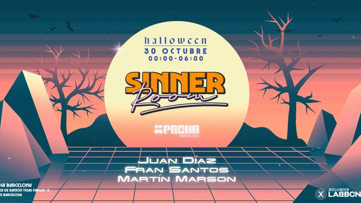 Cover for event: RED ROOM | Pacha Barcelona pres. SINNER