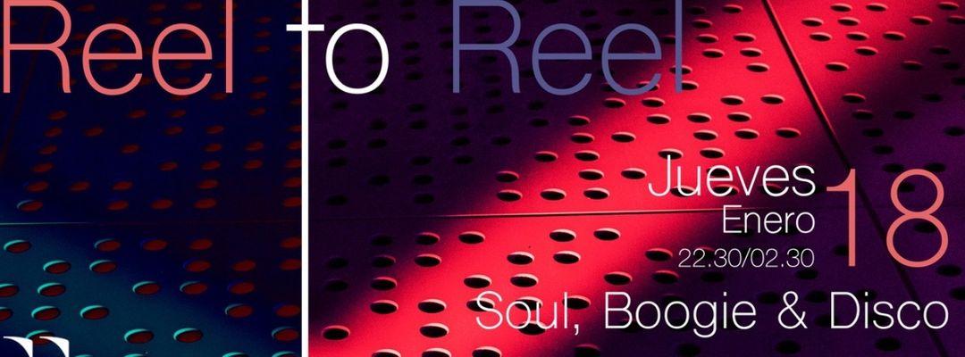 Cartel del evento REEL TO REEL