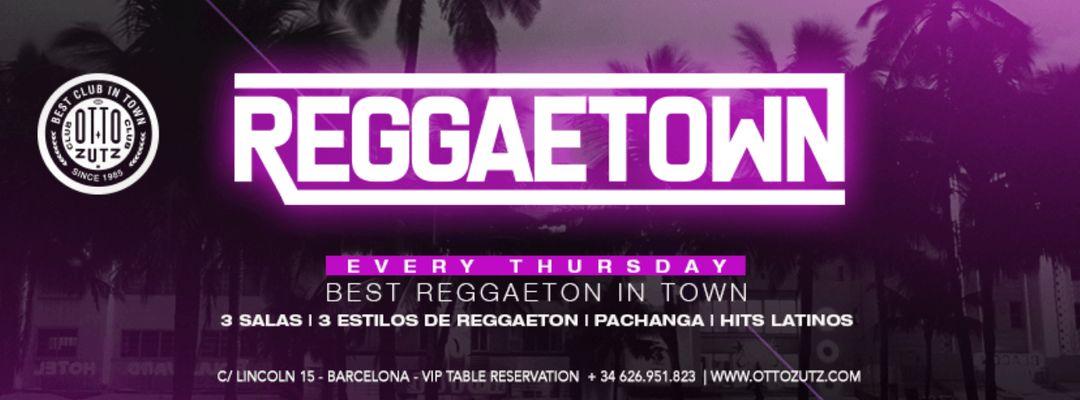 Capa do evento REGGAETOWN | Every Thursday