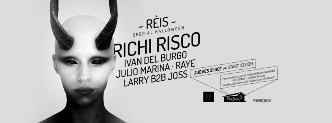Capa do evento REIS OPENING / HALLOWEEN CON RICHI RISCO EN PLATFORM7