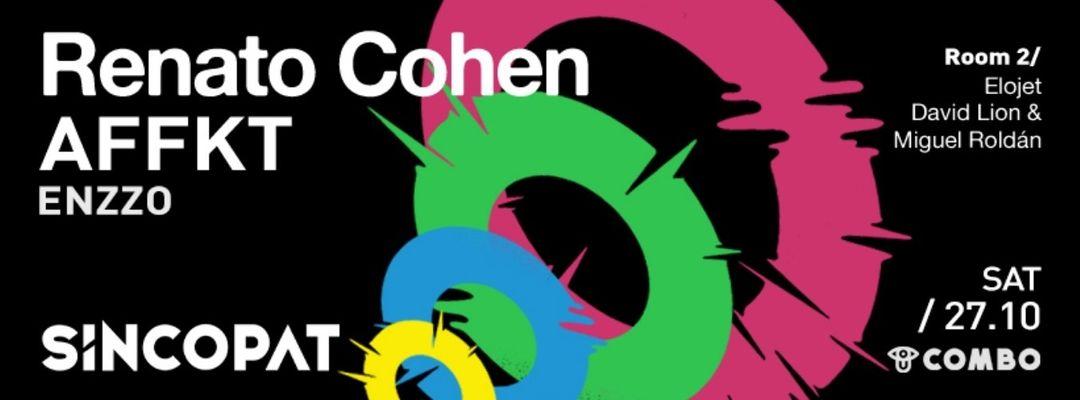 Cartel del evento Renato Cohen · Saturday Combo