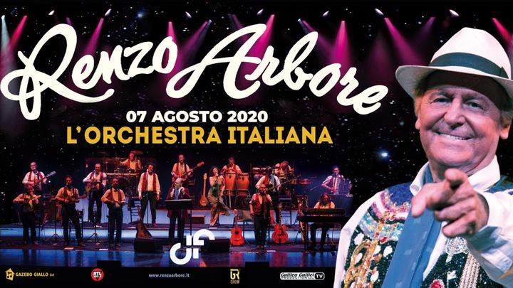 Cover for event: Renzo Arbore e L'orchestra italiana