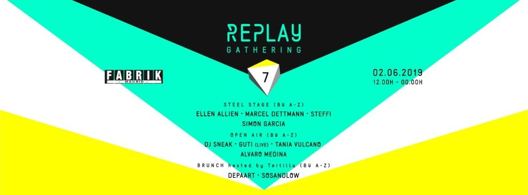 REPLAY Gathering event cover