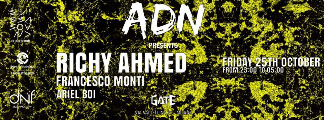 Copertina evento RICHY AHMED | Gate Milano