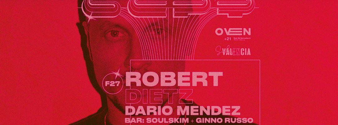 Cartell de l'esdeveniment ROBERT DIETZ + DARIO MÉNDEZ