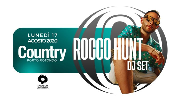 Cover for event: Rocco Hunt Dj Set | Country Club