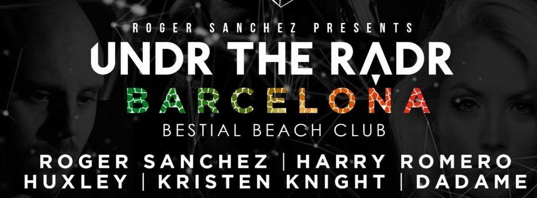 Cartel del evento ROGER SANCHEZ presents UNDR THE RADAR