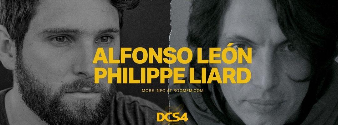 Cartel del evento Room FM w. Alfonso León & Philippe Liard