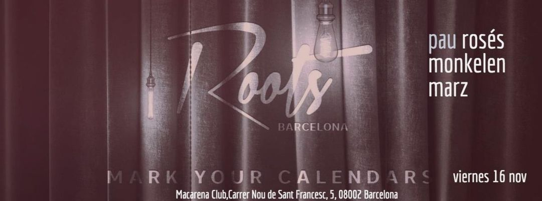Cartel del evento Roots Showcase