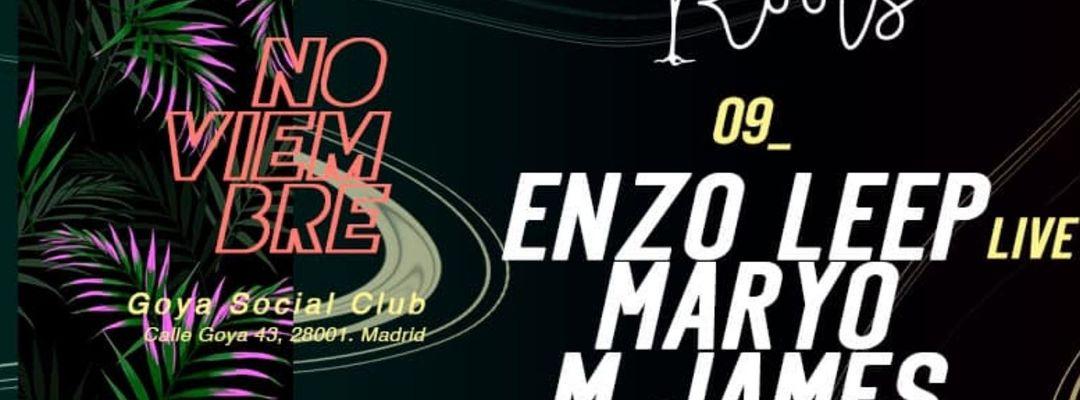 Cartel del evento Roots w/ Enzo Leep (live)