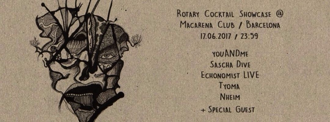 Cartel del evento Rotary Cocktail OFF Week Showcase