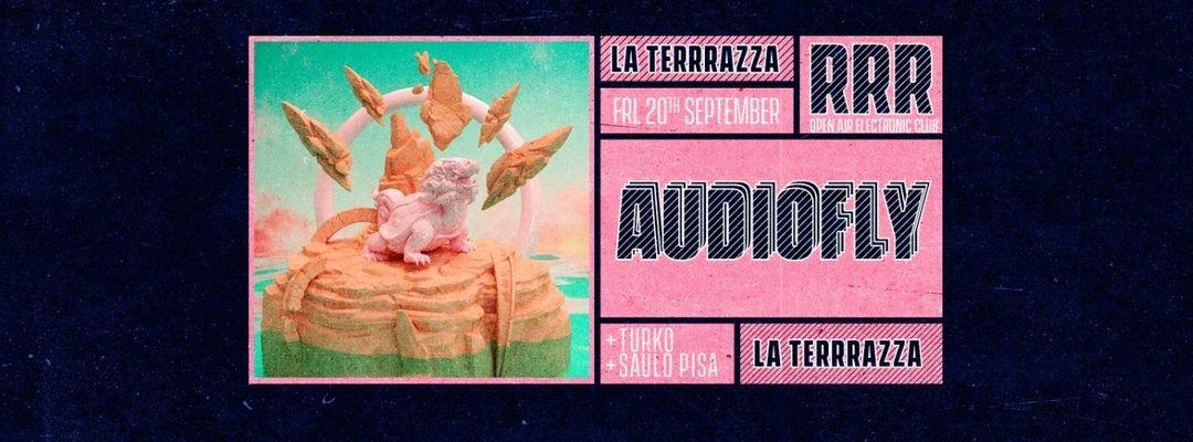 Couverture de l'événement RRR Friday Night w/ Audiofly, Turko & Saulo Pisa