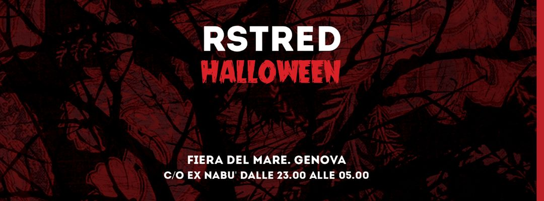 RstRed Halloween Edition event cover