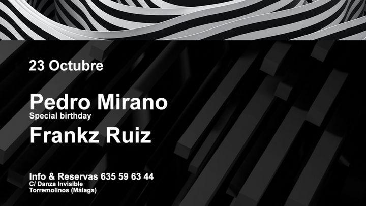 Cover for event: S/ SATRUERDAY - Pedro Mirano & Frankz Ruiz