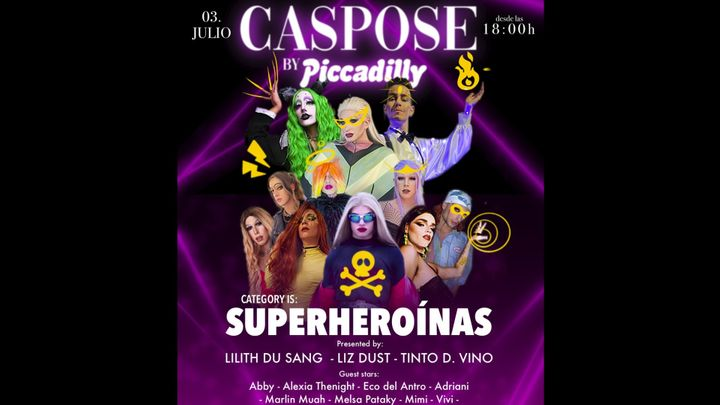 Cover for event: Sábado 03 de Julio _ CASPOSE by Piccadilly