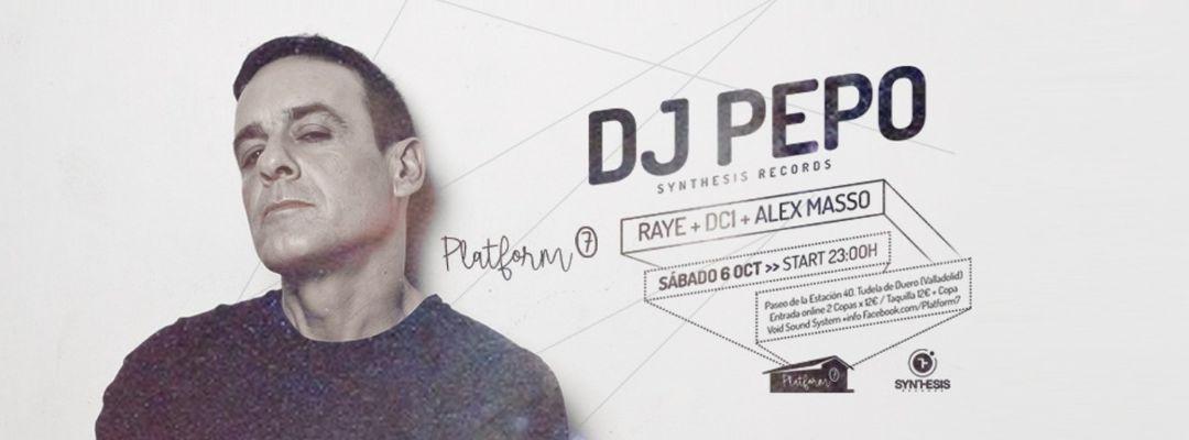 Sabado 6 de octubre / Dj Pepo en Platform7-Eventplakat