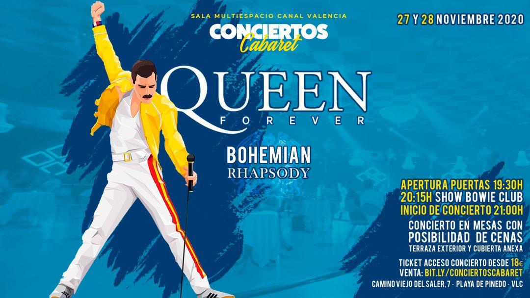 SÁBADO - Conciertos Cabaret - Queen Forever event cover