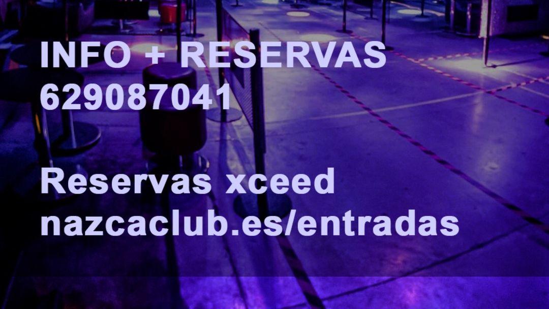 Cartel del evento SALA NAZCA DOMINGO 10 OCTUBRE