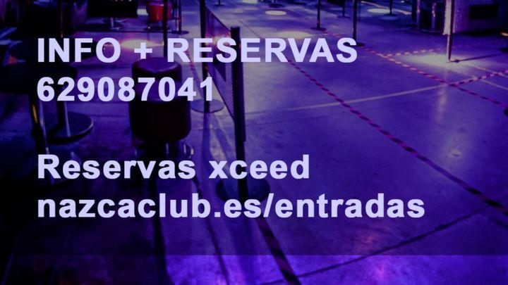 Cover for event: SALA NAZCA DOMINGO 3 OCTUBRE