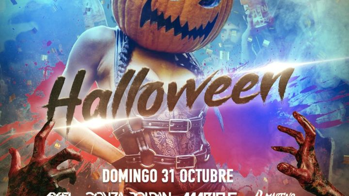 Cover for event: SALA NAZCA DOMINGO 31 OCTUBRE HALLOWEEN