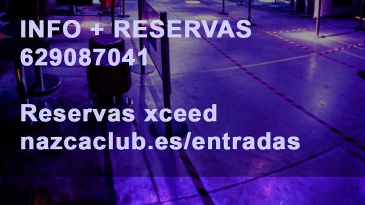 Cover for event: SALA NAZCA JUEVES 21OCTUBRE