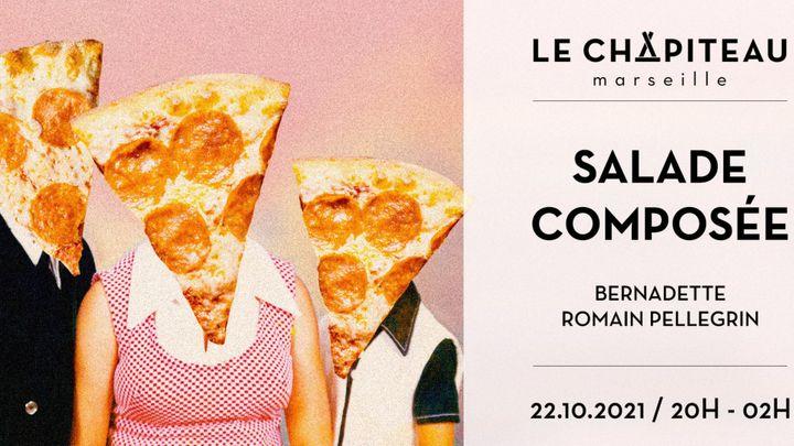 Cover for event: Salade composée w/ Bernadette & Romain Pellegrin