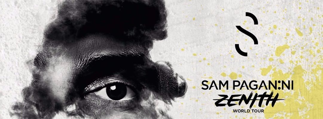 Sam Paganini Zenit Album Tour presented by SWING event cover