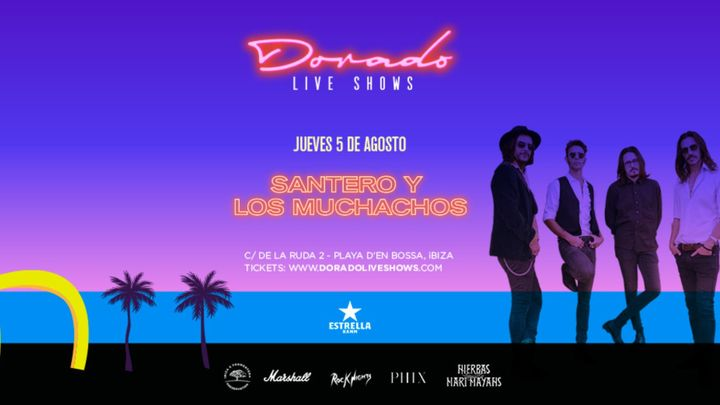 Cover for event: Santero y Los Muchachos en Dorado Live Shows