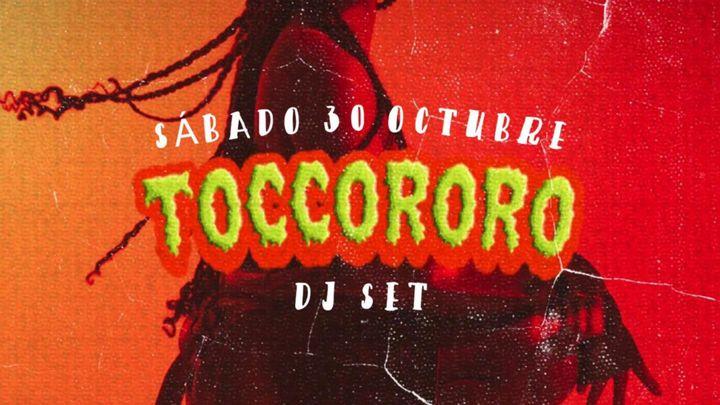 Cover for event: SATURDAY 30TH OCTOBER w/ TOCCORORO @ COSTA SOCIAL CLUB