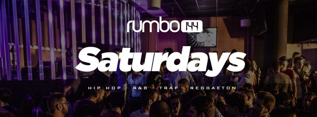 Saturday at Rumbo144 event cover