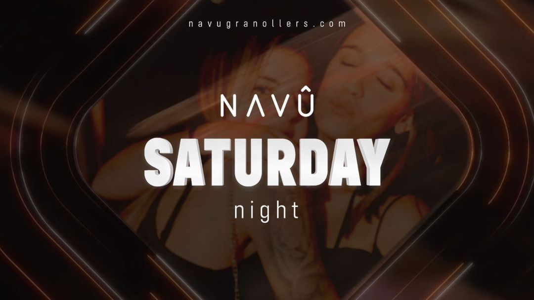 Saturday Is Back - Navû Granollers event cover