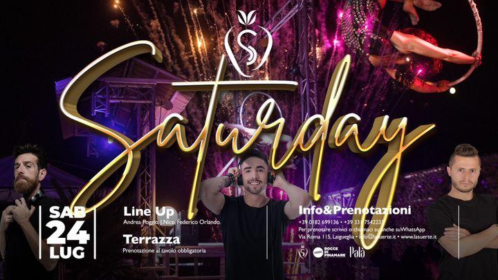 Cover for event: Saturday Night - 24/07 La Suerte