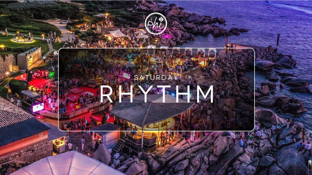Saturday Rhythm - June 26th-Eventplakat