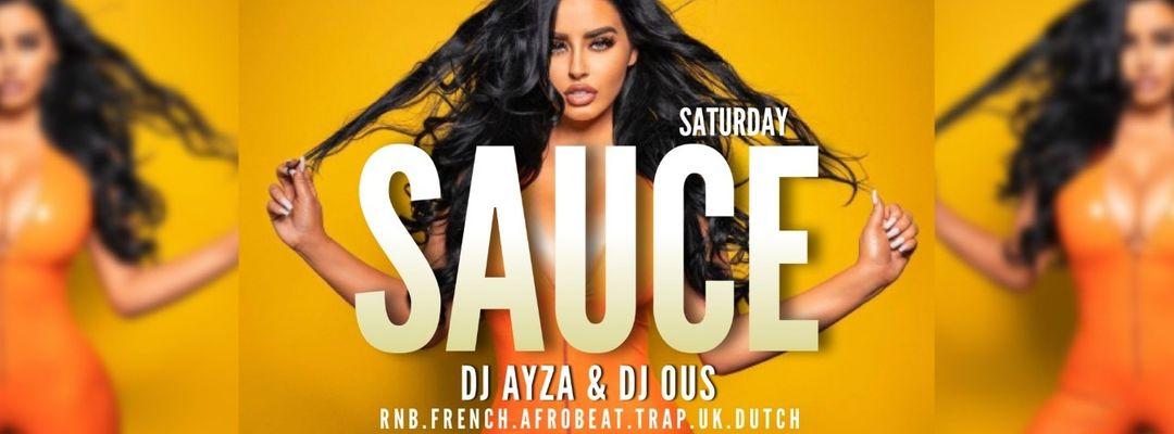 SAUCE - VIP ROOM pres. DJ OUS & DJ AYZA-Eventplakat