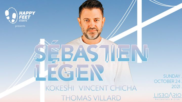 Cover for event: Sebastien Léger at Lisboa Rio