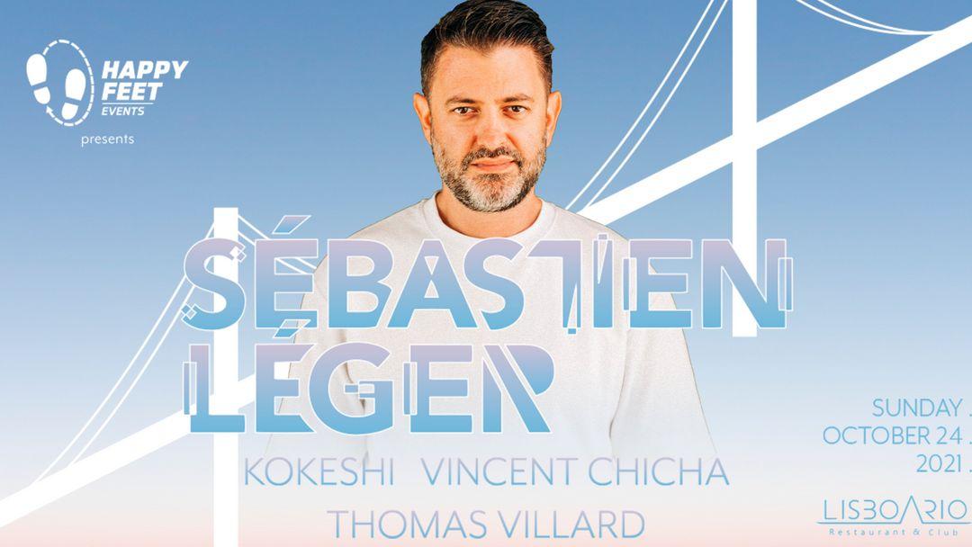 Sebastien Léger at Lisboa Rio   event cover