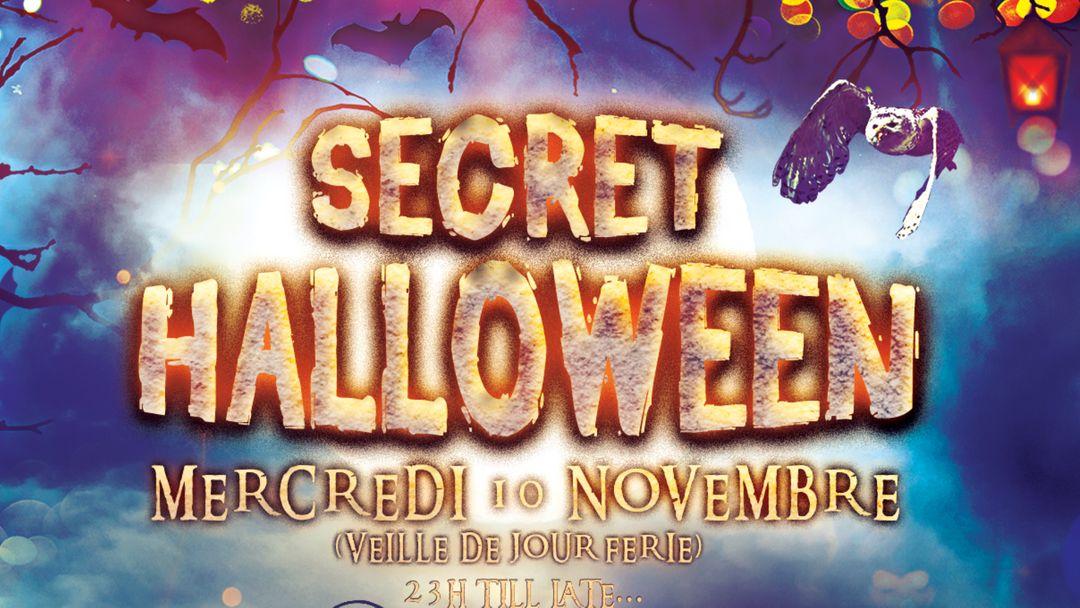 Cartel del evento SECRET HALLOWEEN