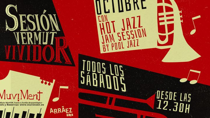 Cover for event: Sesión Vermut Vividor con Hot Jazz Jam Session by Pool Jazz