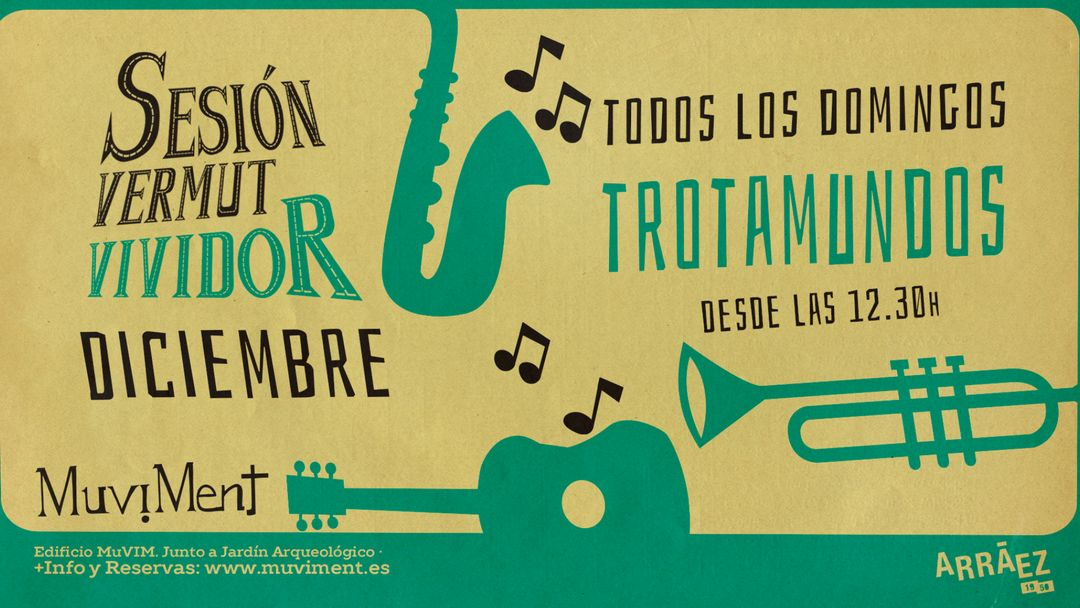 Sesión Vermut Vividor Trotamundos event cover