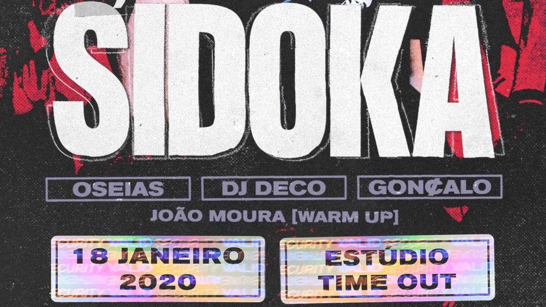Sidoka @ It's a Trap event cover
