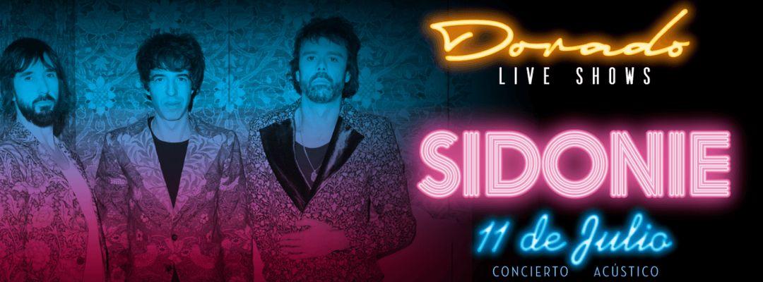 Cartel del evento Sidone en Dorado Live Shows
