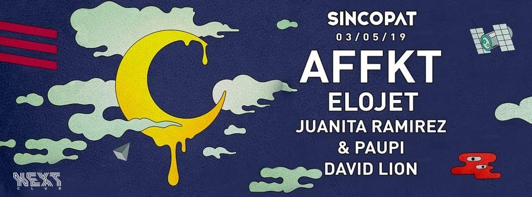 Sincopat | AFFKT-Eventplakat