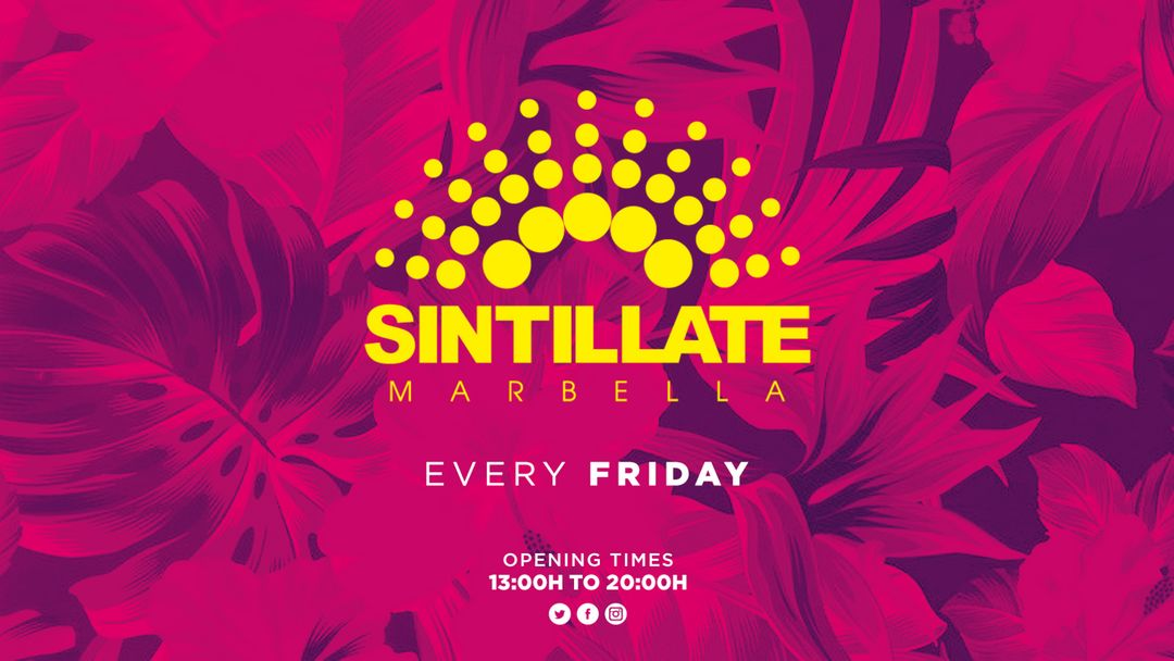 Sintillate event cover
