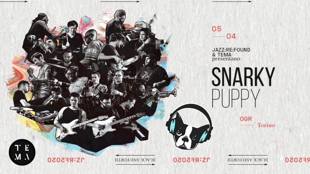 SNARKY PUPPY  A MILANO event cover