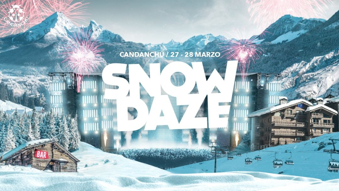Cartell de l'esdeveniment Snowdaze Fest *APLAZADO*