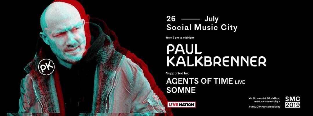 Copertina evento Social Music City w/ Paul Kalkbrenner
