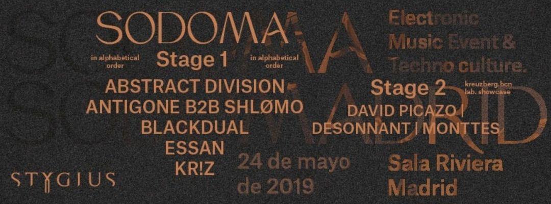 Sodoma® event cover