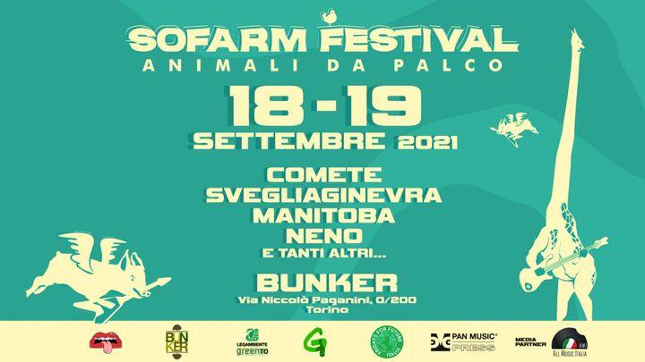 Cover for event: SOFARM FESTIVAL – Animali Da Palco - BUNKER